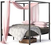 Zinus Metal Canopy Platform Bed Frame Quenn