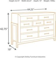 Ashley Furniture - Sommerford Dresser