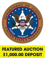 U.S. Marshals (Featured) online auction ending 5/10/2021