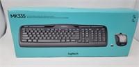 Logitech wireless keyboard, MK335. NIB