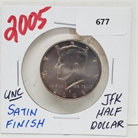 Rare Coins & Fine Jewelry Tues. 5/4 8 pm CST