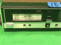 Realistic AM/FM Stereo 8 Track Record System