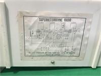 JcPenney Superheterodyne Radio