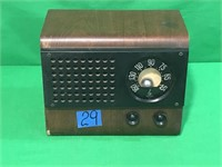 Emerson Radio with Wood Case