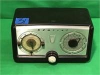 Admiral Telechron Movement Clock Radio
