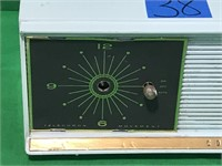 "Coronado ""Tune-Time"" Clock Radio"