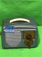 Temple Superhet Tube Radio