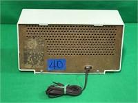 General Electric Dual Speaker Radio