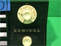 "Admiral ""America's Smart Set"" Tube Radio"