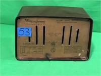 Westinghouse Tube Radio