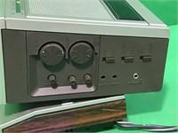 Panasonic TV/FM/AM Radio Clock