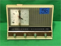 Arvin Solid State Electric Transmitter Alarm Clock