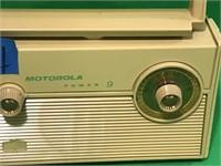 Vintage Motorola Power 9 All Transistor Radio
