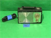 Ambassador Solid State Transistor AM,AC Radio