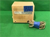 Sharp FM-AM Clock/Radio, Model# FX-40CU