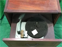 Motorola Front Step Console Radio and Turntable