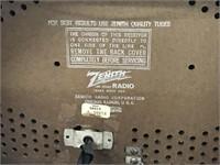 Zenith Long Distance FM Tube Radio & Turntable