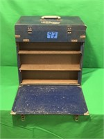 Vintage Tube Radio Service Toolbox with Some Tubes