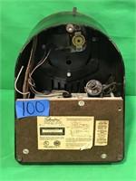 Silvertone AM Tube Radio and Record Player