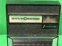 Sound Design 6 Transistor Tadio