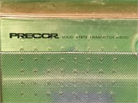 Precor Solid State Transistor Radio