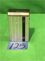 RCA  All transistor Battery Operated Radio
