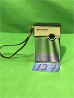 Admiral Solid State Battery Operated