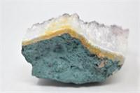 "Purple Crystal Geode 5"""