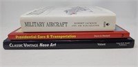 Hard cover book lot