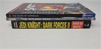 Star Wars, Superman, walking dead paperback books