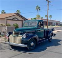 Chevy Truck 1941 Original Barn Find!