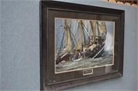 Belem 1896 SHIP AT SEA-by Philip Plisson