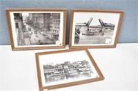 (3) 1910 & 1929 Portland, Ore Photo Prints