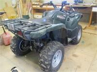 2009 Yamaha YFM550