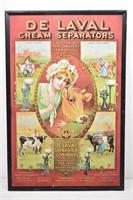 Tin Reproduction DE LAVAL Cream Separator Ad