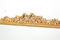 Gold Framed Braided Rope Cute Floral Mirror