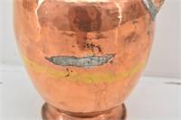 Copper Decorative Tall Tea/Coffee Kettle/ Pot