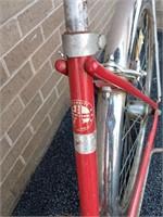 Schwinn Vintage Bicycle Saddle Damage