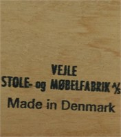 Danish Veile Table Top Has Scratches