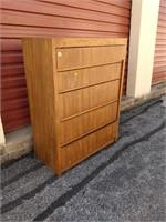 Thomasville 5 Drawer Dresser Shows Wear