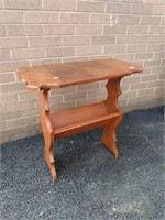 Magazine Table Has Veneer & Other Issues