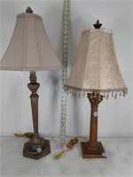 (2) Column Table Lamps