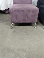 (2) Mod designer side chairs w/chrome legs