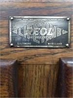 "Vintage Wood ""REOL' Lifetime Icebox Balto, MD"