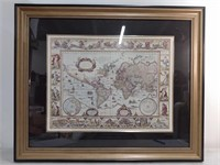 """Image of Old Map, Image 17""""x22"""""""