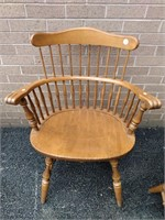 Pr Ethan Allen Windsor Chairs Normal Use