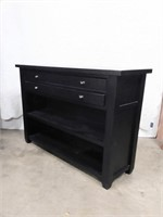 Black Wall Console Table Pottery Barn Normal Use