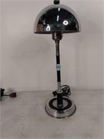 """Pr Art Deco Chrome Table/Boudoir Lamps 15.5""""H"""