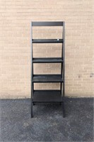 "Black Knick Knack Shelf 68""Hx24""W"