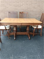 Canadel China Cabinet, Table & 6 Chairs